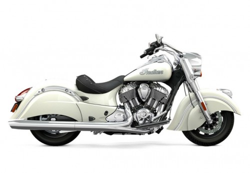 2016 Indian Chief Classic Pearl White