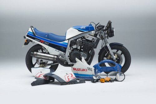 Suzuki to restore original GSX-R750 at Motorcycle Live