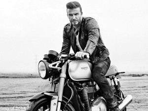 Is this the new Triumph Bonnie under Beckham?