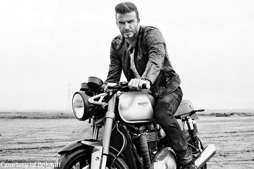 Is this the new Triumph Bonnie under Beckham?
