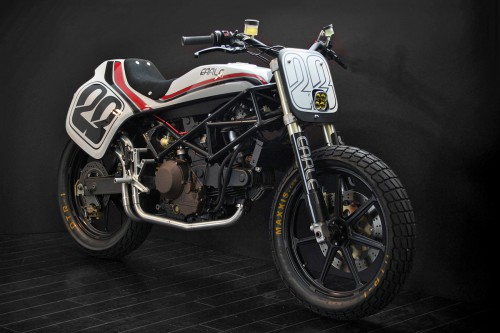 Street Tracker, based on the Ducati Monster