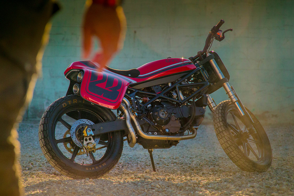 Street Tracker Based On The Ducati Monster