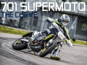 Husqvarna 701 Supermoto in action