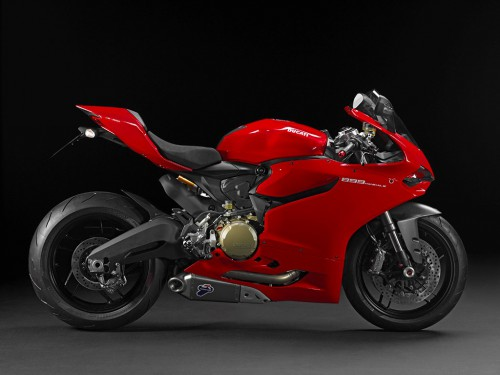 2015 Ducati Panigale 899 side view