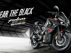 Bajaj Pulsar RS200 Demon Black