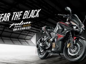 Bajaj Pulsar RS200 Demon Black