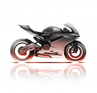 The new Panigale will be powered by a 955cc engine